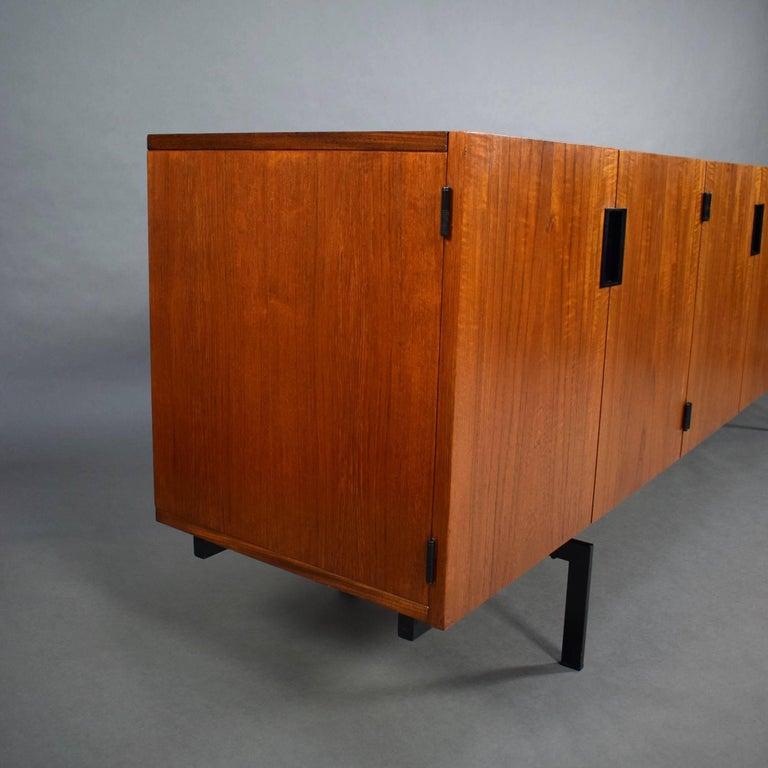 Metal Braakman Japanese Series DU03 Sideboard for Pastoe, 1960 For Sale