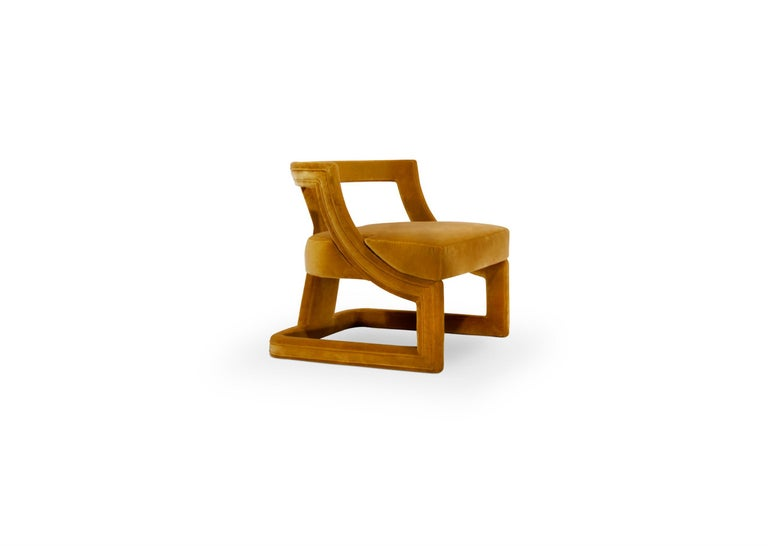 As one of the most ancient tribes in the world, Batak has a very rich culture and compelling traditions. Inspired by this, our designers created Batak velvet chair, a totally upholstered chair that has a light structure yet is full of personality.