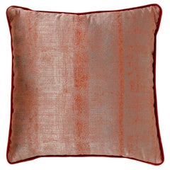Sahara Pillow in Red Twill