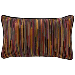 2 Brabbu Tapestry Pillow in Multicolored Twill