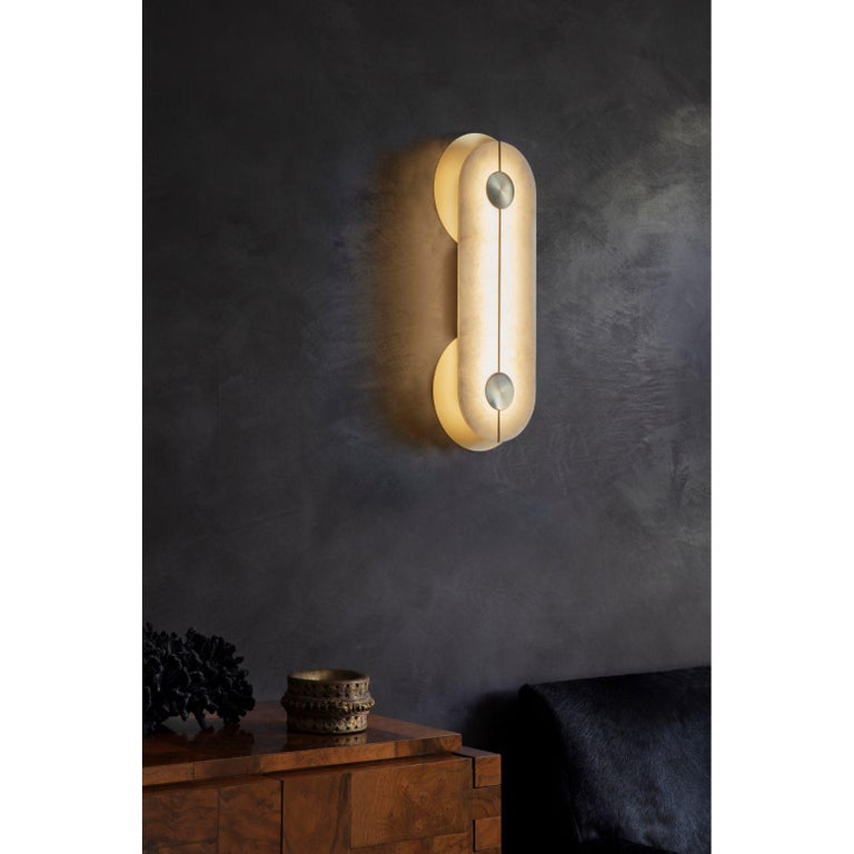 Brace Wall Light Large by Bert Frank For Sale 1