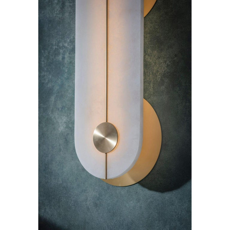Brace Wall Light Large by Bert Frank For Sale 2