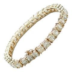 Yellow Diamonds 23,05ct 18K Yellow Gold Bracelet