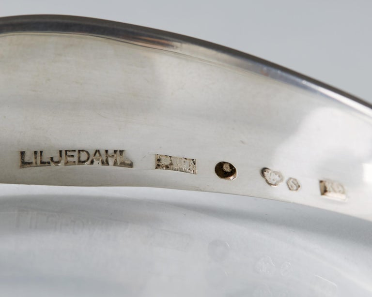 Mid-20th Century Bracelet Designed by Bengt Liljedahl, Sweden, 1960 For Sale
