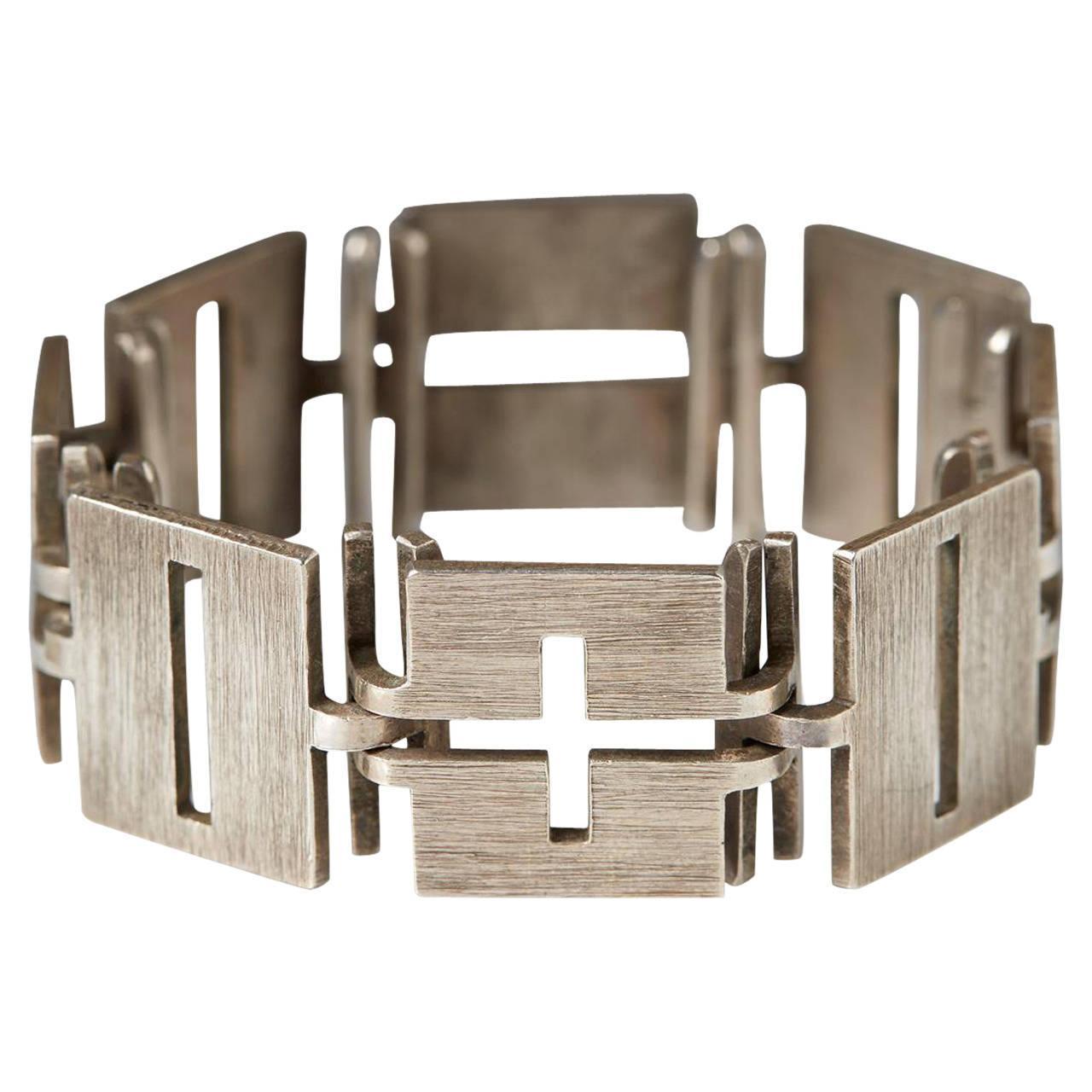 Bracelet Designed by Rey Urban, Sweden, 1960s