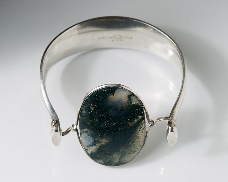 Modern Bracelet Designed by Torun Bülow-Hübe for Georg Jensen, Denmark, 1960s For Sale