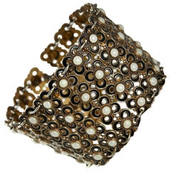 Bracelet Designed by Willy Winnaess for David Andersen, Norway, 1950s