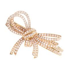 Bracelet Diamond and Pink Gold