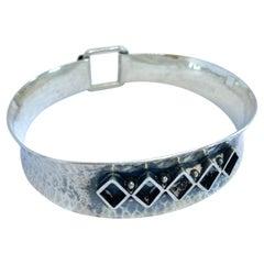 Bracelet Silver Made in Finland V. Hamara