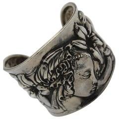 "Bracelet Venere, Sterling Silver 925/°°, Botticelli, ""Homage to great masters"""