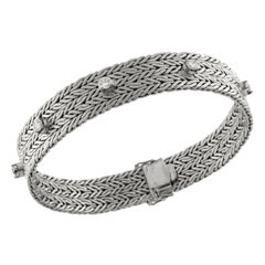 Bracelet White Gold with Diamonds