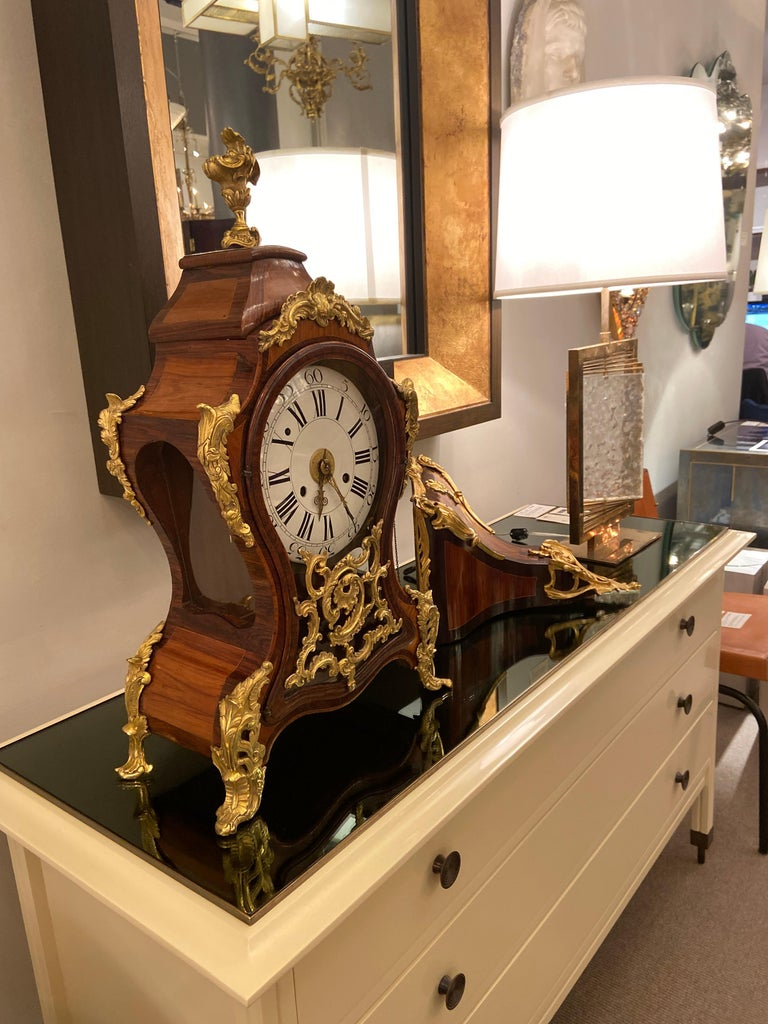 Bracket Clock, Italy, Mid-18th Century In Fair Condition For Sale In New York, NY
