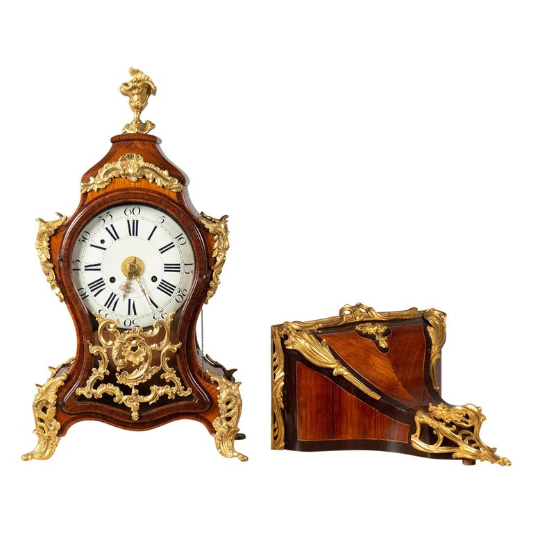 Bracket Clock, Italy, Mid-18th Century For Sale