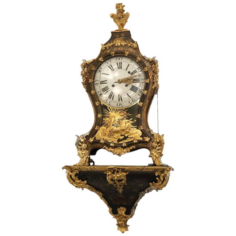 Bracket Clock, Switzerland, 18th Century For Sale