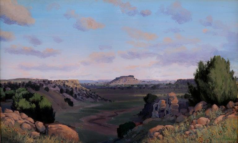 "Brad Aldridge Landscape Painting - ""Desert Springtime"""