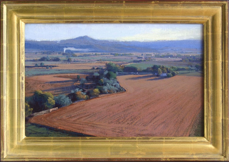 """Farm Land, Early October"" - Painting by Brad Aldridge"