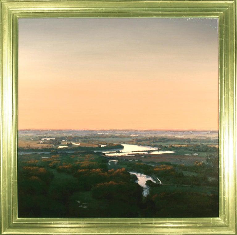 "Brad Aldridge Landscape Painting - ""The Pale Light of Morning"""