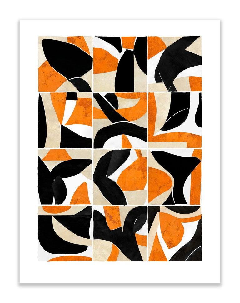 Brad Ellis Abstract Print - Mystic Rituals 4