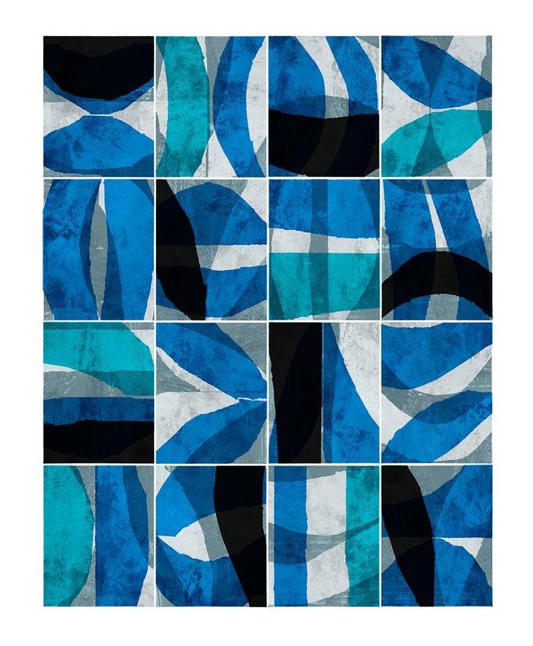 Paradigm Blue - Abstract Art by Brad Ellis