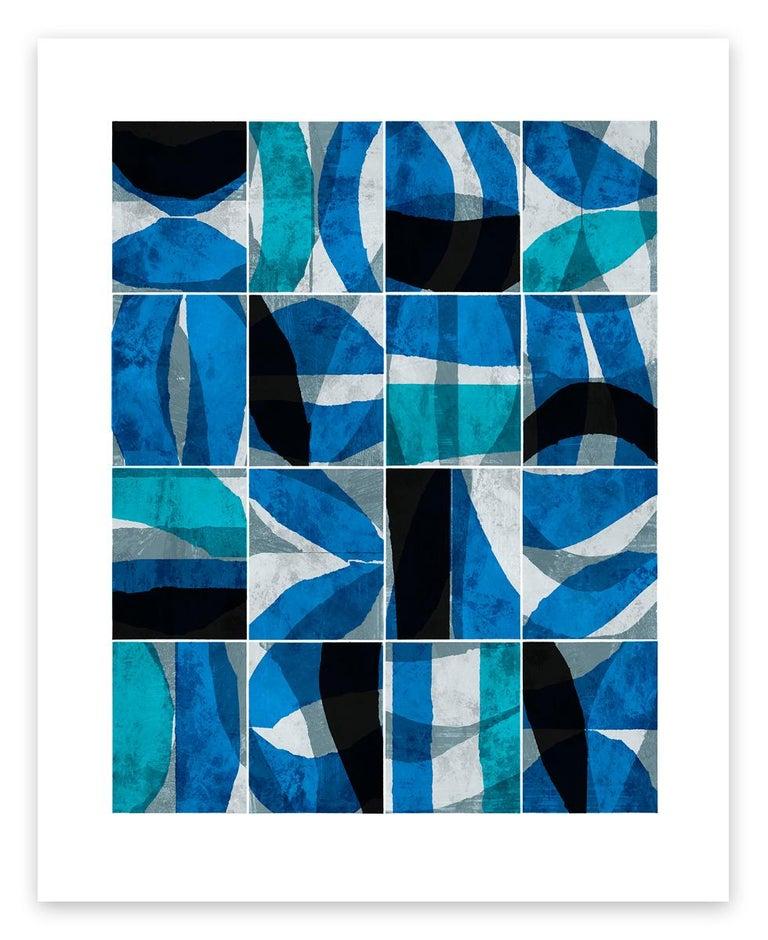 Paradigm Blue - Art by Brad Ellis