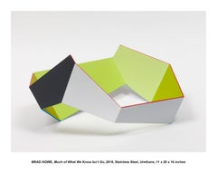 Much of What We Know Isn't So, Contemporary, Geometric, Minimal, Sculpture