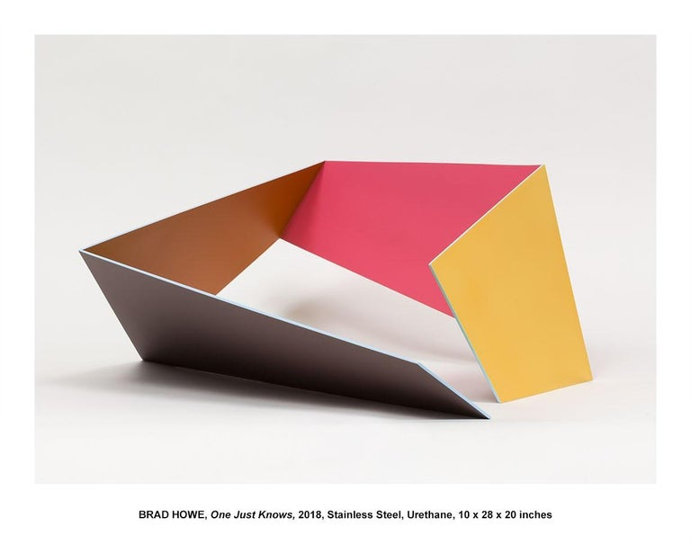 """Brad Howe Abstract Sculpture - """"One Just Knows"""""""