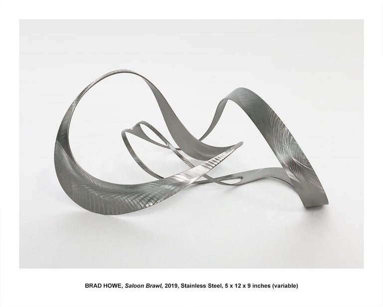 "Brad Howe Abstract Sculpture - ""Saloon Brawl"""