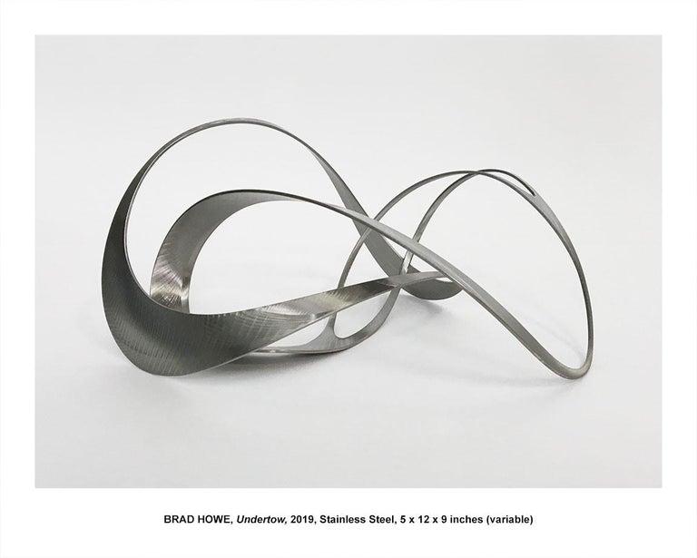 "Brad Howe Abstract Sculpture - ""Undertow"""