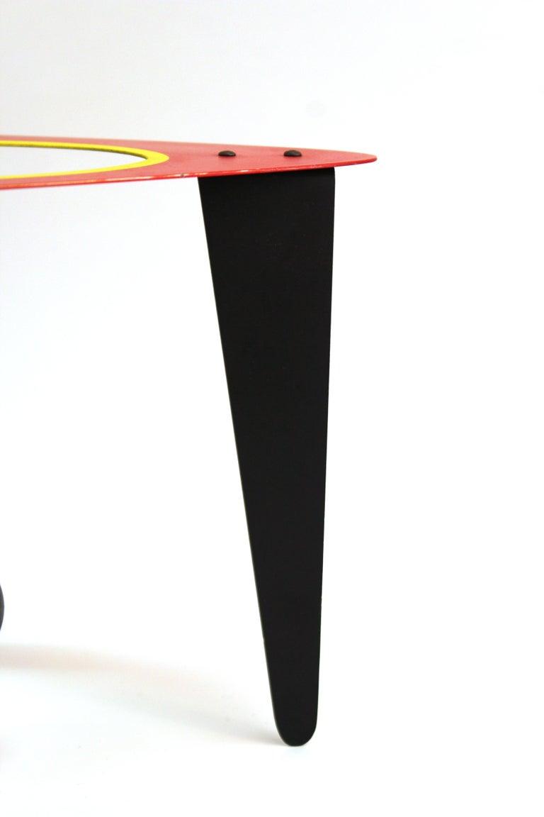 Brad Howe Modern Kinetic Mobile / Stabile Sculpture For Sale 3