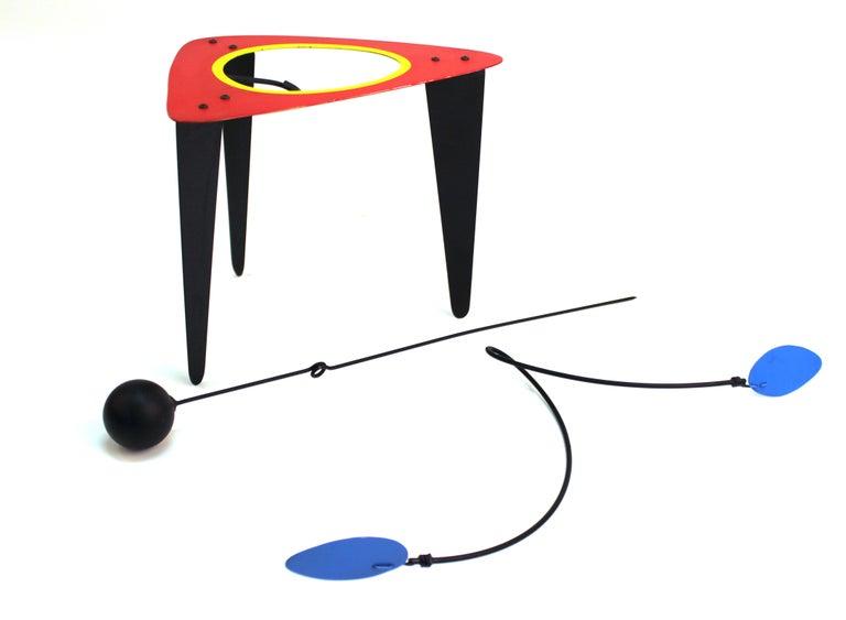 Brad Howe Modern Kinetic Mobile / Stabile Sculpture For Sale 5