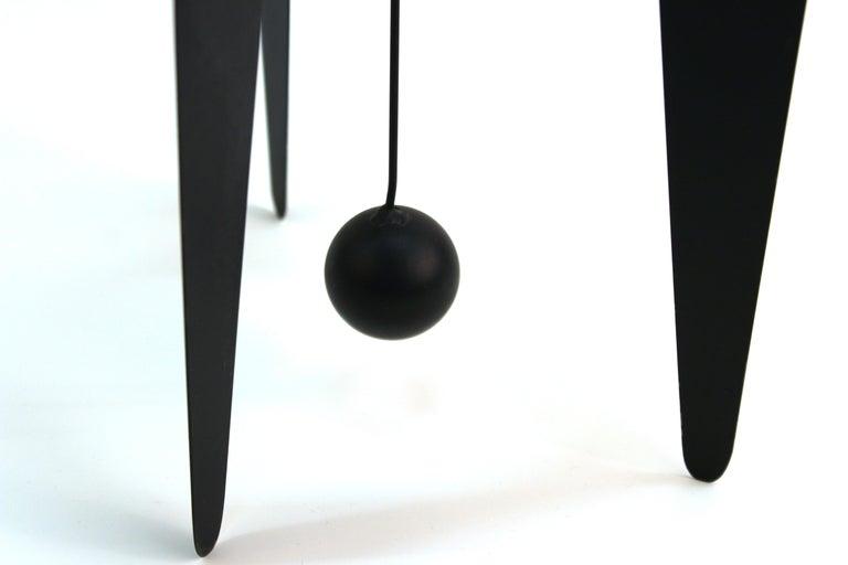 Steel Brad Howe Modern Kinetic Mobile / Stabile Sculpture For Sale