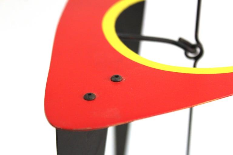 Brad Howe Modern Kinetic Mobile / Stabile Sculpture For Sale 2