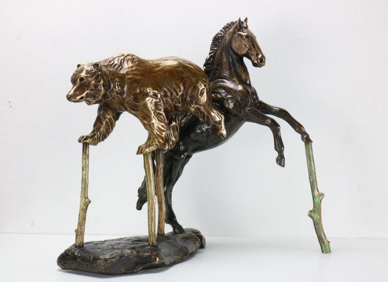 Combined Effort - Sculpture by Brad Rude
