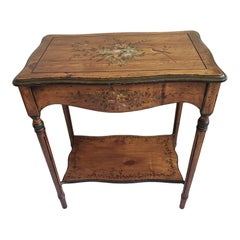 Bradburn Home Solid Pine Painted Accent Console Table