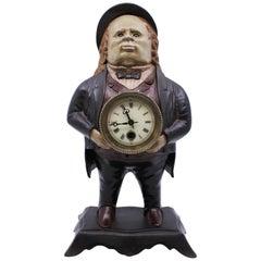 Bradley & Hubbard John Bull Blinking Eye Novelty Clock