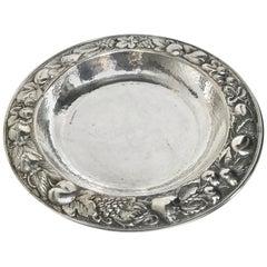 Braganti Handcrafted Bra Sterling Silver Handmade Italian Fruit Centrepiece