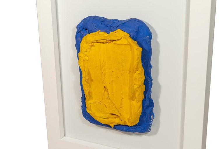 Bram Bogart, Painting, Mixed Media, Signed, 1981, Belgium.  Measures: Height 49.5 cm, width 40.5 cm, depth 4 cm.