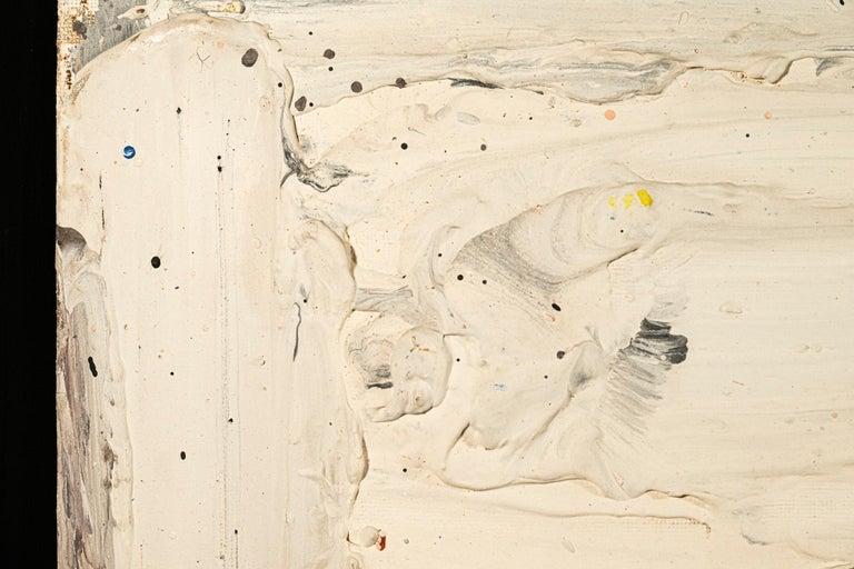 Belgian Bram Bogart (1921-2012), Painting, Signed, Belgium, 1991 For Sale