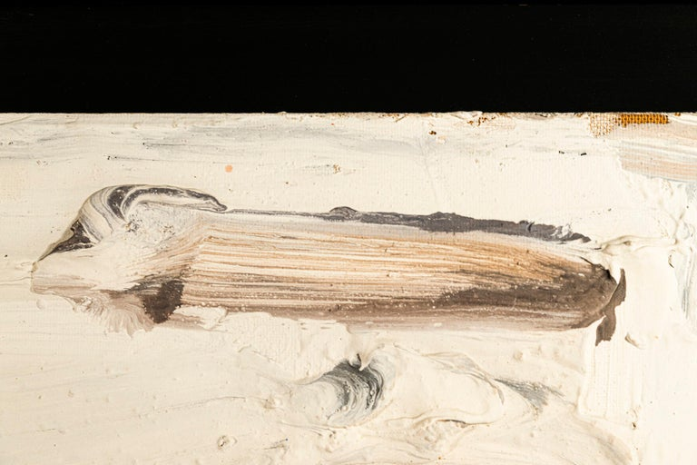 Late 20th Century Bram Bogart (1921-2012), Painting, Signed, Belgium, 1991 For Sale