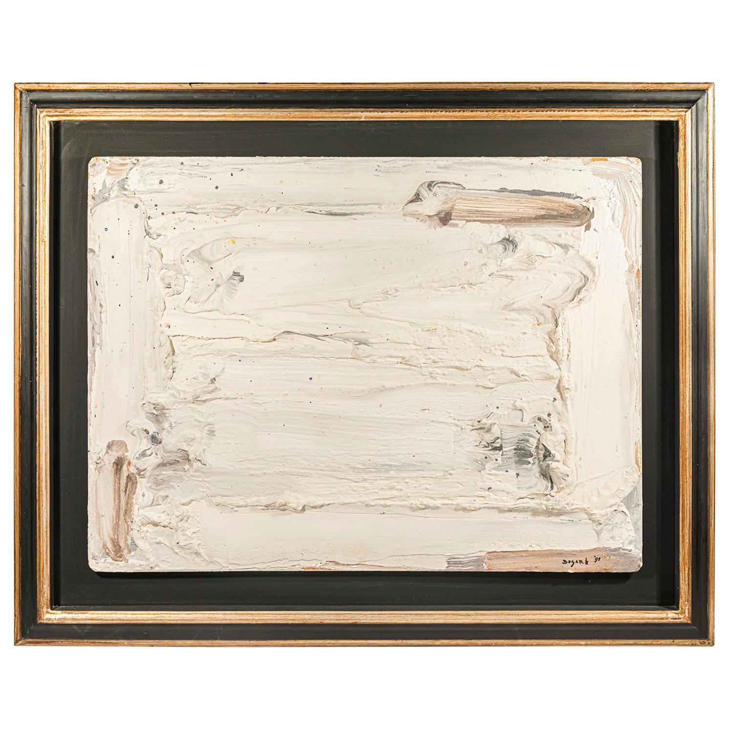 Bram Bogart (1921-2012), Painting, Signed, Belgium, 1991