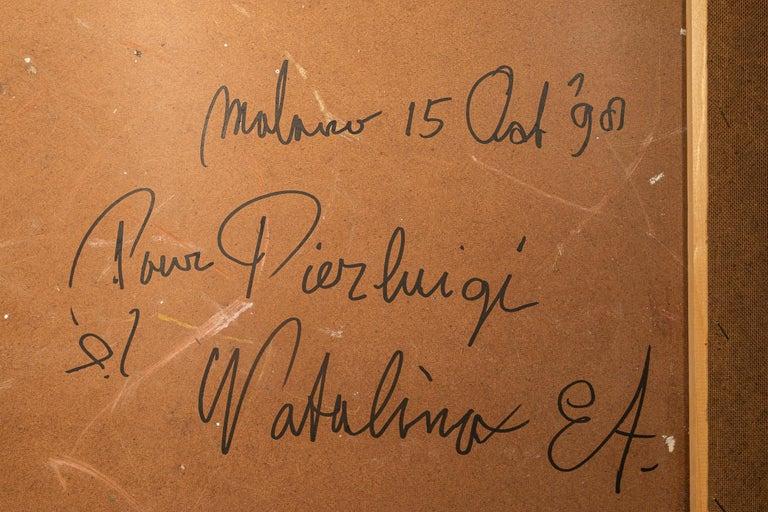Bram Bogart, Painting, Signed, Belgium, 1991 For Sale 7