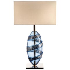 Brama Lamp Light Blue
