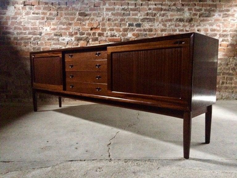 Bramin Teak Sideboard Credenza by H W Klein Danish Midcentury 1960s For Sale 5