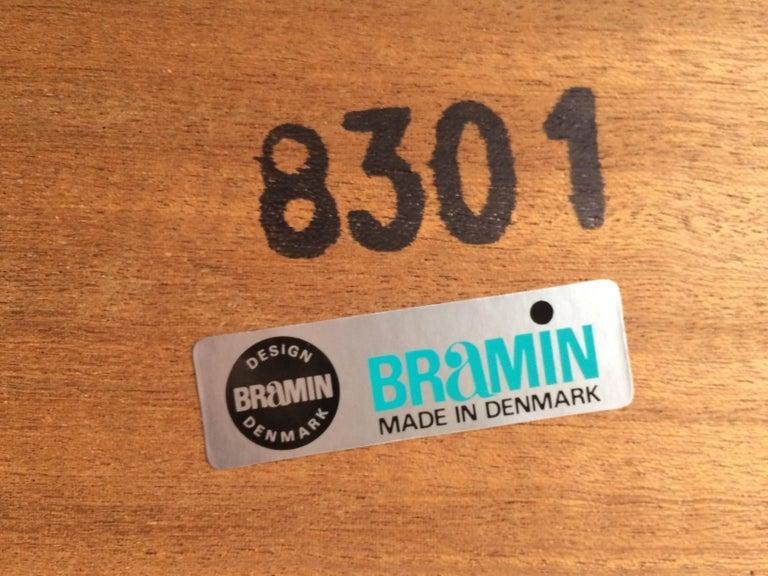 Bramin Teak Sideboard Credenza by H W Klein Danish Midcentury 1960s For Sale 7