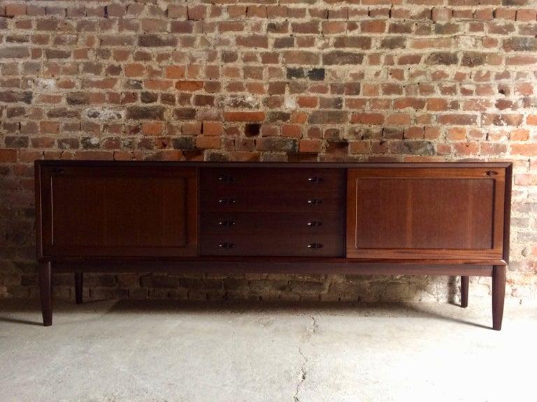 Bramin Teak Sideboard Credenza by H W Klein Danish Midcentury 1960s For Sale 4
