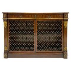 Brampton House English Regency Style Cabinet or Server, circa 1960