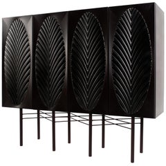 Branches Brass Cabinet Signed by Ivan Basov