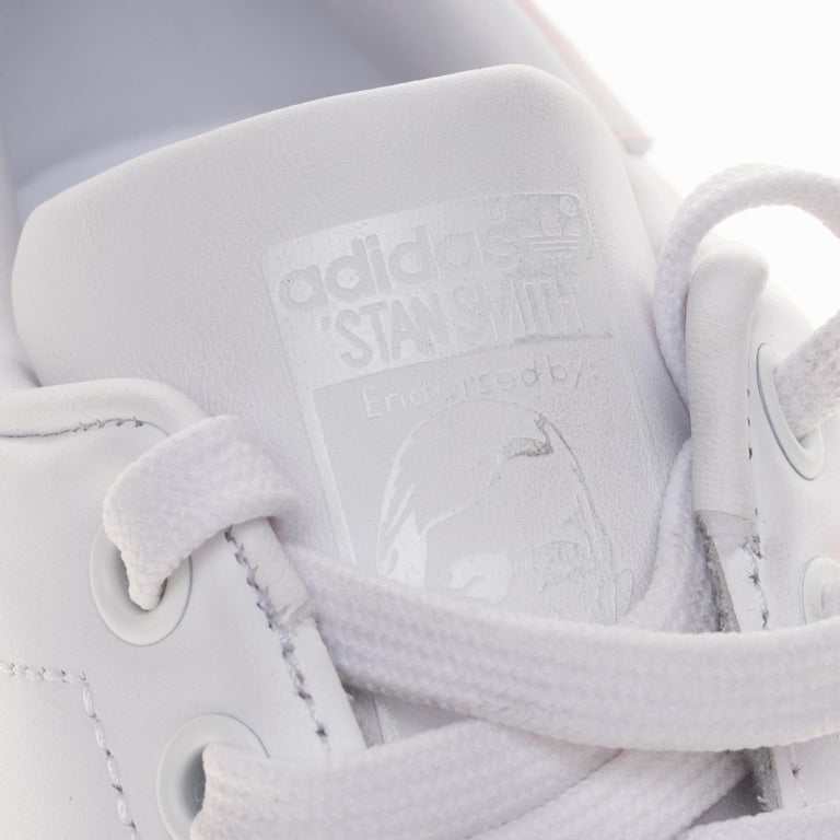 Brand New Adidas Stan Smith All White sneakers customized