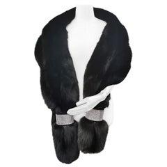 Brand New Holt Renfrew Fox Fur Cape Shrug Stole