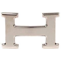 "Brand new Hermes Belt Buckle model  ""Constance"" in Shiny Silver !"